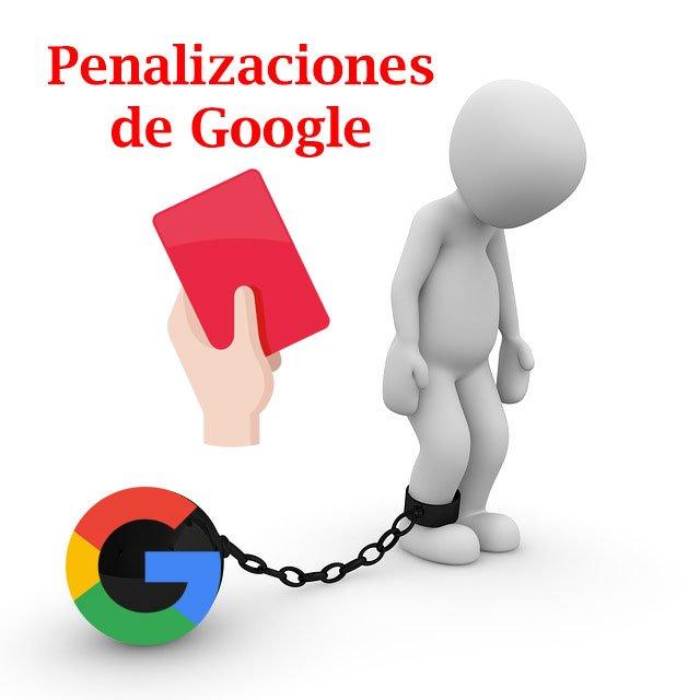 Penalizaciones de Google