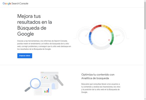 ¿Qué es Google Search Console?