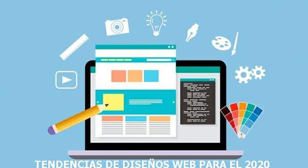 Tendencia de  Diseños Web para el 2020